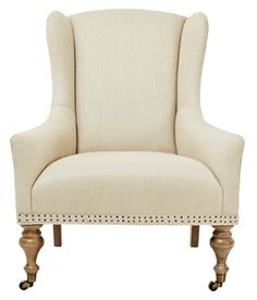 irving place hamilton chair - natural