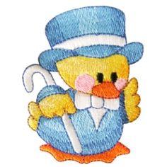 ch106 - Ducky Machine Embroidery Design