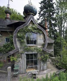 Dacha - another typical Vasyllian house design of a Russian nobleman