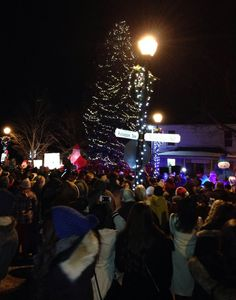 The lighting of Kleinburg's gigantic Christmas tree at the corner of Islington and Nashville is an annual tradition. This year's lighting date is Nov Wood Bridge, Family Events, Romantic Getaways, Nashville, Corner, Christmas Tree, Lighting, Teal Christmas Tree, Xmas Trees