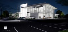 BMW Dealership Study by Charles Vincent George Architects Bmw Dealership, Architects, Study, Mansions, House Styles, Car, Home Decor, Studio, Automobile
