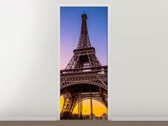 Tür #Tapete Paris- Eiffelturm