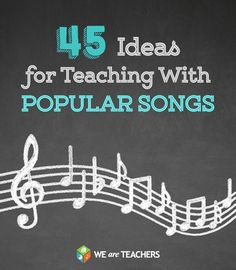 Teaching with songs