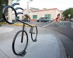 City of Chico is plans to roll out 75 new artistic bike racks along First and Second streets. A contest will be launched soon for people to submit design ideas.