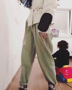 Harem Pants, Khaki Pants, My Style, Instagram, Fashion, Moda, Harem Trousers, Khakis, Fashion Styles