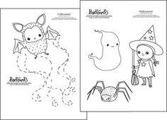 Halloween Embroidery Pattern Set by badbird on Etsy Russian Embroidery, Baby Embroidery, Embroidery Works, Embroidery Motifs, Types Of Embroidery, Cross Stitch Embroidery, Cross Stitch Patterns, Embroidery Designs, Halloween Embroidery