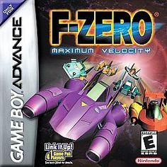 F-Zero Maximum Velocity Nintendo Game Boy Advance 2001 w/manual four players