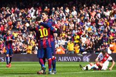 Blog Esportivo do Suíço:  Messi faz 3, Barça vence o Rayo Vallecano e vira líder do Espanhol