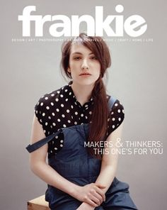 I miss Frankie magazine. US distributors need to get on it!