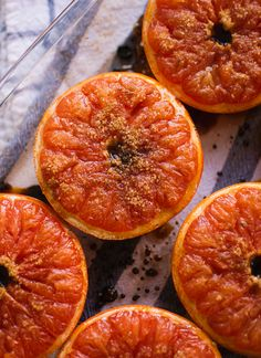 Cozy breakfast idea: Broiled Grapefruit