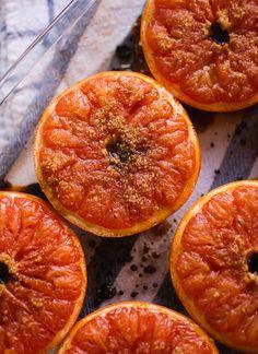 New post! Broiled Grapefruit with Honey Yogurt and Granola