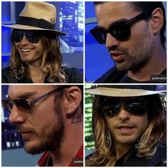 30STM. Thirty Seconds, 30 Seconds, Shannon Leto, Jared Leto, Cool Bands, Mars, Eye Candy, Artist, March