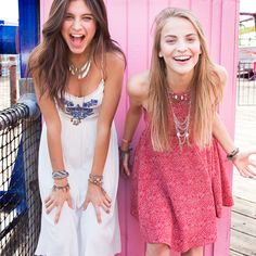 Festival Season, Your BFF & a flirty Hollister Dress... What more do you need?