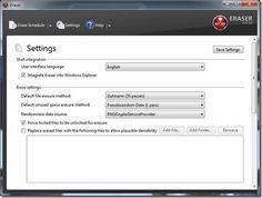 Eraser – A Desktop App that Securely Erases Files Off Your PC