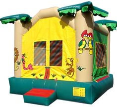 Jungle Moon Bounce!! $225