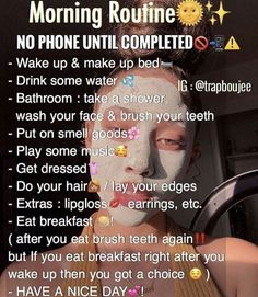 routine @ auf ig💕 - # # - - You are in the right place about hautpflege gesicht Here we offer you the most beautiful pictures about the hautpflege creme you are looking for. When you examine the @ auf ig💕 - # # - - part of the pictu. School Routine For Teens, Morning Routine School, Life Hacks For School, Girl Life Hacks, School Routines, Night Routine, Skin Care Routine For Teens, Girls Life, Beauty Tips For Glowing Skin