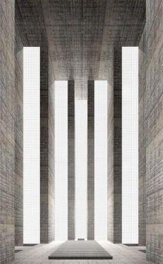 Zeven sacrale ruimten, Simon Ungers