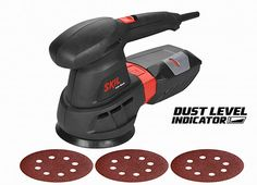 The Skil 7445AA Random Orbit Sander is ideally-suited to DIY projects, as boasts a powerful 430W motor and a unique dust level indicator that indicates the optimal point for emptying the dust box, thereby avoiding loss of suction power, and maximising dust pick-up. Product: Skil 7445AA Random Orbit Sander Number of products to be given...