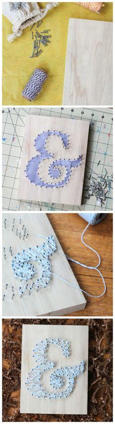 DIY String Art + Giveaway!