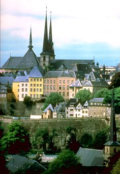 Photo of Luxembourg City for fans of Luxembourg 1637687 Great Places, Places To See, Beautiful Places, Places Around The World, Around The Worlds, American Cemetery, Famous Castles, Luxembourg, France Travel
