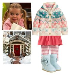 """""""Christmas: Prim"""" by piterse ❤ liked on Polyvore featuring Old Navy and Gymboree"""
