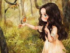 새와 만나다