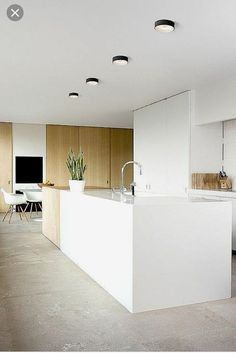 Modern kitchen lamps provide for exquisite kitchen lighting. Modern Grey Kitchen, Grey Kitchen Designs, Minimalist Kitchen, Basic Kitchen, Kitchen Lamps, Home Decor Kitchen, Kitchen Lighting, Kitchen Ideas, Barn Wood Bathroom