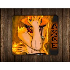 ONE PIECE PORTGAS D ACE STYLE MOUSE PADS