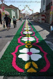 Conoce espa a desde casa corpus christi en sitges 2012 corpus pinterest spain carpets - Alfombras portugal ...