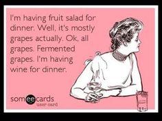 Love me some fruit salad.  ;-)