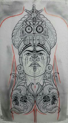 Make Tattoo, Black And Grey Tattoos, Aztec, Projects To Try, Dragon, Montages, Mexican, Warriors, Black And Gray Tattoos