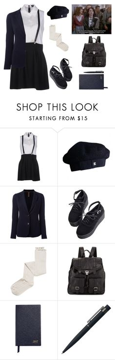 """dear diary, my teen-angst bullsh*t has a body count"" by queen-of-disasterxxi ❤ liked on Polyvore featuring Alice + Olivia, Chanel, Eleventy, Ryder, Intimately Free People, Proenza Schouler, Smythson and John Lewis"