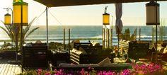 Strandbar im Hotel Paradis Plage, Taghazout
