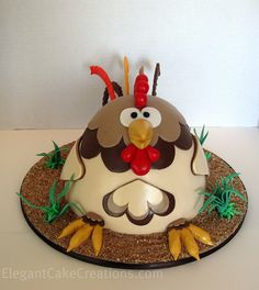 Rooster Grooms Cake by Elegant Cake Creations AZ, via Flickr