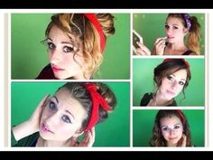 13 cute and easy Bandana Hairstyles! <3