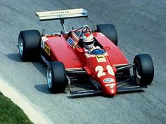 Mario Andretti fills in at Ferrari at Monza and sticks the 126C2 on pole.