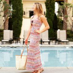 How to style your Desert Chic Maxi Dress! #bikinis #designerswimwear #ladylux #ladyluxswimwear #maxidress