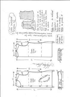 Colete matelassê – Marlene Mukai Blazer Pattern, Jacket Pattern, Top Pattern, Pattern Cutting, Pattern Mixing, Sewing Lessons, Sewing Hacks, Dress Sewing Patterns, Clothing Patterns