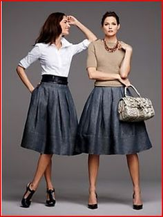 How to sew a skirt like this one. (McCalls 5591)