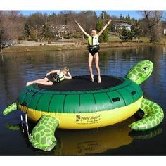 turtle water trampoline