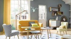 salones-modernos-cortinas-amarillas