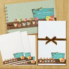 Hey, I found this really awesome Etsy listing at https://www.etsy.com/listing/116858809/stationery-set-with-notepad-cards-and