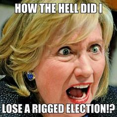 And they call Trump stupid? LMFAO ~ Her entire adult life spent in American politics and Hillary didn't know about the Electoral College? LOL ~ RADICAL Rational Americans Defending Individual Choice And Liberty Crooked Hillary, Liberal Logic, Political Memes, Political Corruption, Conservative Politics, Stupid People, Evil People, Normal People, Truth Hurts