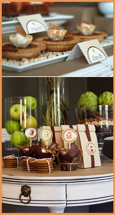 With holiday entertaining around the corner, we're looking for stylish ways to dress up a table to impress our guests. Maureen Anders and Adria Ruff, designers and co-founders of Anders Ruff Custom Designs, have created a classic Fall Harvest printable collection in earthy hues to add a special touch whether you're sharing cupcakes at a …