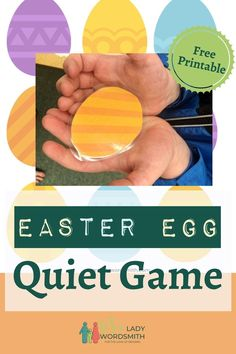 Whether you're teaching at home or in the classroom, this fun quiet game with printable Easter eggs is adorable for young children. Mother's Day Activities, Children Activities, Easter Activities, Classroom Activities, Spring Recipes, Easter Recipes, Printable Crafts, Printables, Reading Games