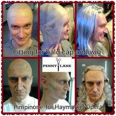 #PennyLaneChicago #PennyLaneStudios #Wig #SpecialEffects #Makeup #OldAge #Baldcap Bald Cap, Penny Lane, Old Age, Fx Makeup, Studio S, Special Effects, Wigs, Lace Front Wigs