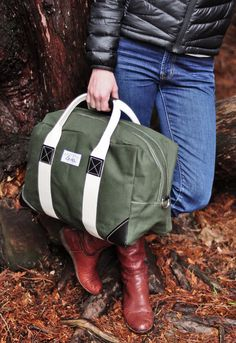 Beckel Canvas Olive Possibilities Bag