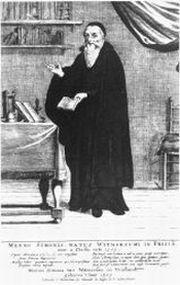 Menno Simons, founder of the Mennonite Church