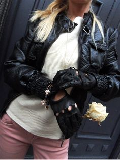 Leather Driving Gloves Fall Fashion 2013 Accessories