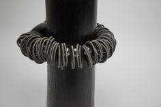Lousje & Bean's new unique Canadian Made Jewelry line....Ruby.... Available here: http://www.lousjeandbean.ca/bracelets/ #canadianmade #funckybracelets #uniquejewerly #lousjeandbean #boutique #stretchybracelet #swarovski